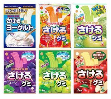 UHA 味覺糖 撕吧!手撕軟糖 (優格/紅葡萄/白葡萄/橘子/哈密瓜/蘋果) 7枚入