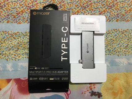 iBox - Adapter USB C ( type C ) multiport pro hub ORIGINAL IBOX