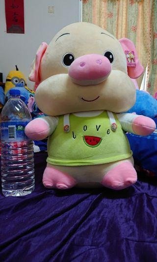 超大豬豬娃娃50cm生日禮物聖誕禮物