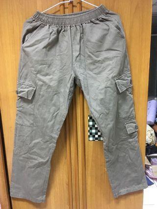 軍綠工作褲