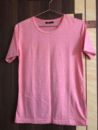 甜美粉色超柔軟T-shirt