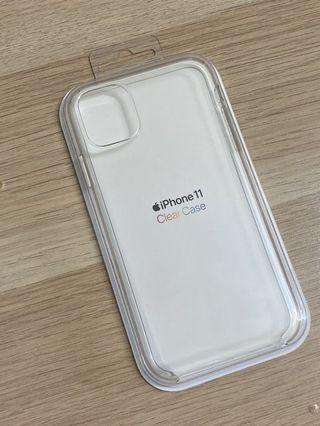 售全新iPhone11原廠透明殼