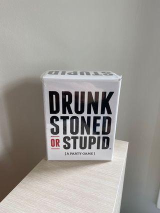 Drunk Stoned or Stupid UNUSED