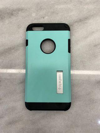 iPhone 6plus blue Spigen case - excellent condition