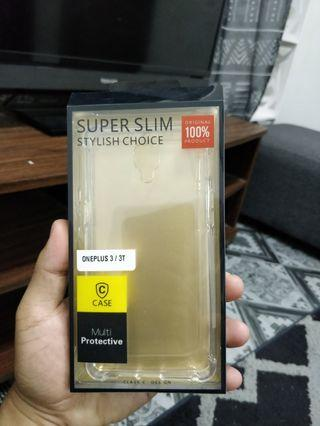 One Plus 3/3T clear case