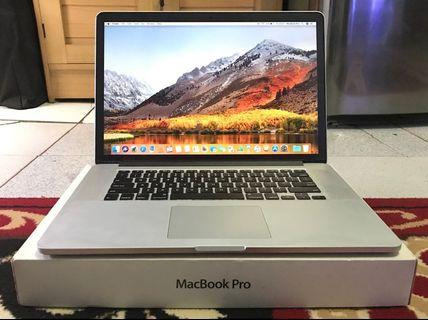MacBook Pro 15 Retina MC976 SSD512 Fullset