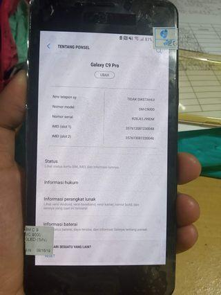 Samsung C9 Pro 6 / 64 GB Fullset