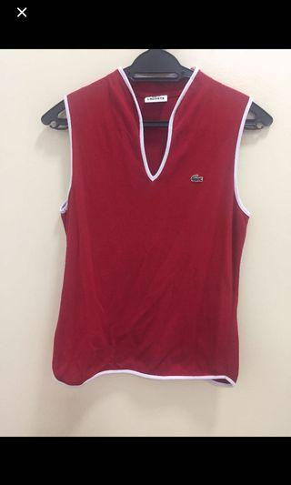 Authentic Lacoste V Neck