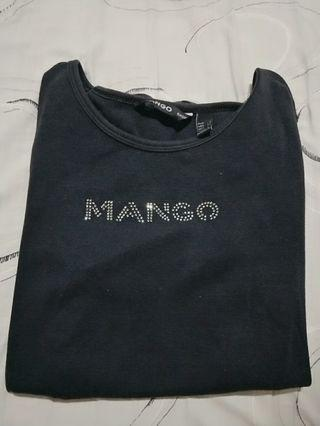 Mango 基本款貼鑽上衣