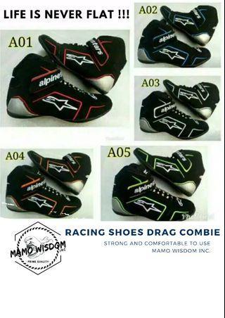 Racing shoes drag combie