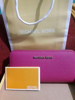 Michael Kors Wallet - Pink Magenta