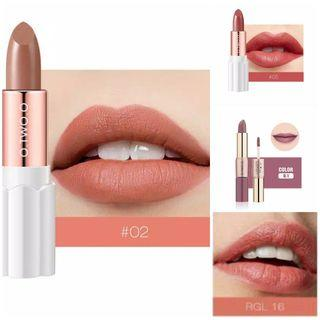 {Take all 4pcs} Velvet Matte Lipstick