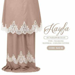 Telekung by naelofar hijab