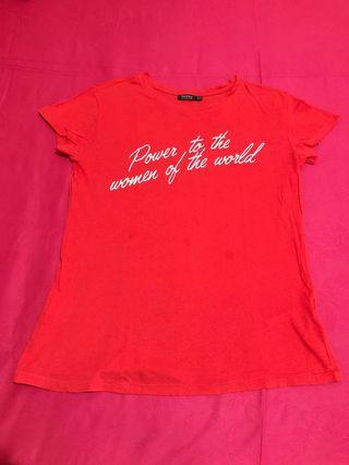 T shirt warna orange