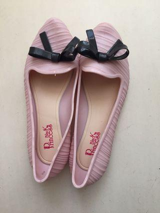 NEW Pink Jelly Shoes Size 37