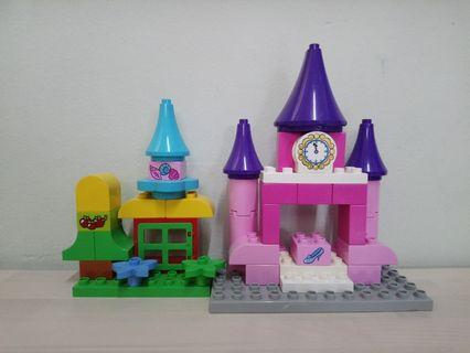 Lego Duplo Castle As Is
