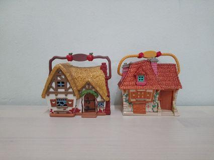Disney Animator's Mini House Collection As Is