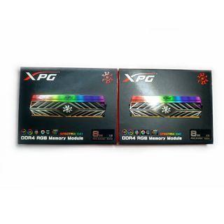 威剛 XPG SPECTRIX D41 DDR4 3000 8Gx4 32G 超頻 RGB 炫光記憶體 自動超頻 終身保