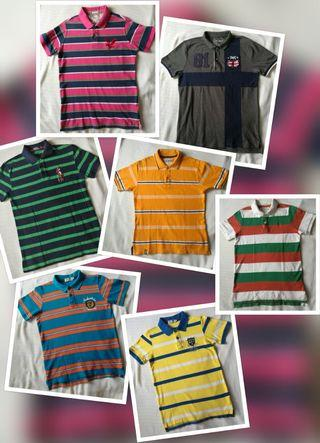 (REDUCED) POLO TEE IN SMALL SIZE