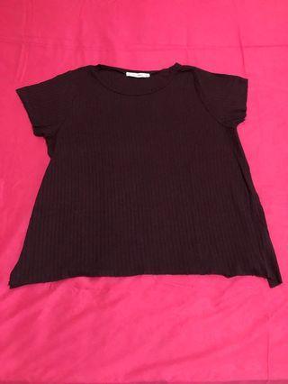 Tshirt warna ungu