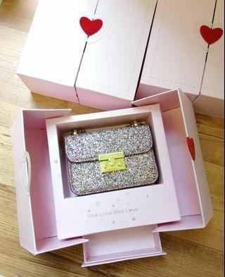 charles n keith glitter box