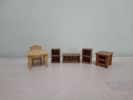 Sylvanian Families School Furnitures