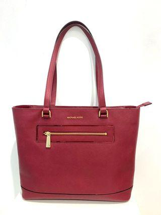 #SALE Michael Kors Cherry Large NS Tote