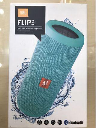 獎品#全新未猜公司貨防水JBL FLIP3綠色