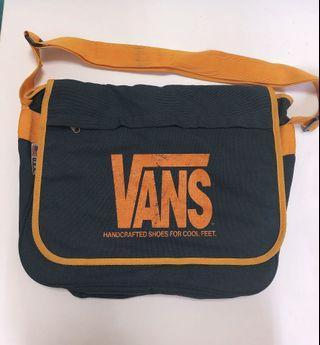 Vintage Vans 美製 側背包 古著 書包 滑板品牌