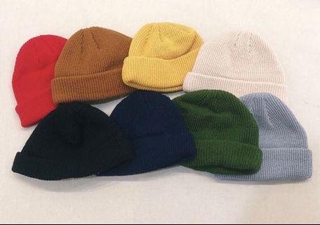 多色可選 短毛帽(一組2頂$300🔥)