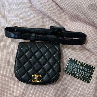 Chanel經典腰包