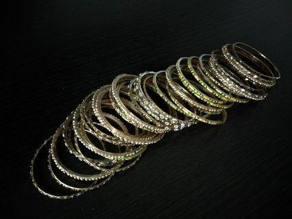 Assorted Deepavali bangles