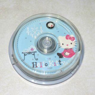 三麗鷗 正版授權 Hello Kitty 2006年 空白光碟 燒錄光碟 CDR 80min 700MB CD空白光碟片