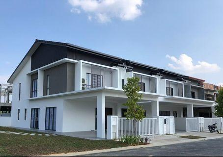 Semi D concept superlink house, 24x70 , Good fengshui, Good environment