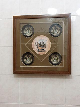 Four Seasons Framed Art