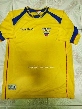 Ecuador home kit jersey, 2002/03