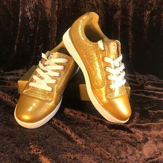 SUPERGIRL DC Gold Sneaker Shoes