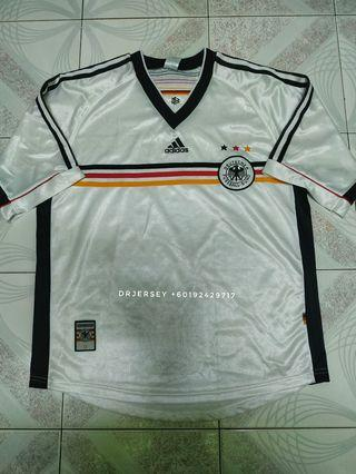 Germany home kit jersey 1998 vintage