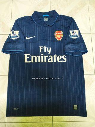 Arsenal away kit jersey 2009/10