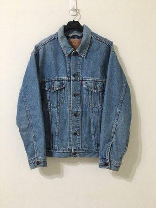 古著 Vintage 90's Levi's Levis 牛仔外套 鋪棉 美國製 Wrangler/Lee