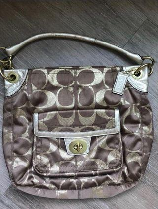 *New* Coach Signature Logo Handbag