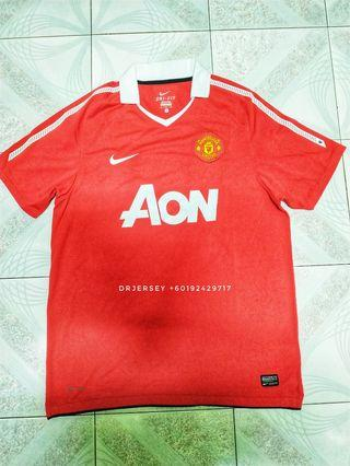 Manchester United Jersey home kit 2010/11