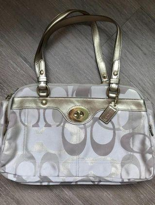 *New* Coach Penelope Optic Signature Logo handbag