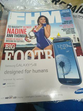 fhm old issue