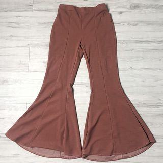 Bell Bottoms Trousers (NEW) (Rose Dawn)