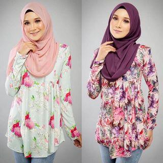 Widuri Nursing Friendly Blouse