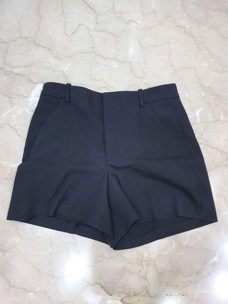 Zara Black Shorts Celana Pendek