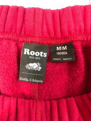 Roots棉褲