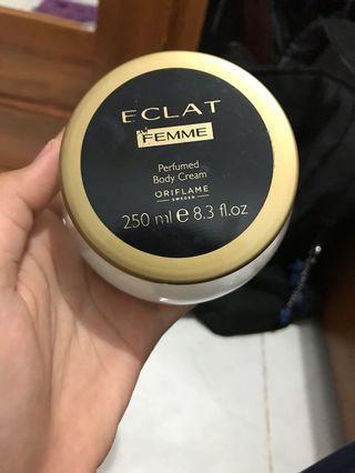 Body Cream Oriflame Eclat Femme