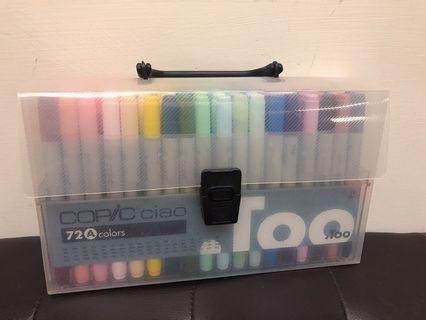 Copic 三代 72A 麥克筆 設計必備用品 (二手)附試色表